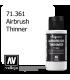 Vallejo Model Air: Airbrush Thinner (60ml)