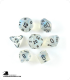 Chessex: Borealis Aquerple/Black Polyhedral dice set (7)