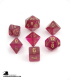 Chessex: Borealis Magenta/Gold Polyhedral dice set (7)