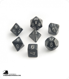 Chessex: Speckled Ninja Polyhedral dice set