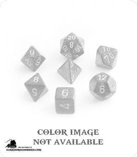 Chessex: Speckled Stealth Polyhedral dice set