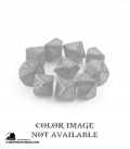 Chessex: Mother of Pearl White/Black d10 dice set
