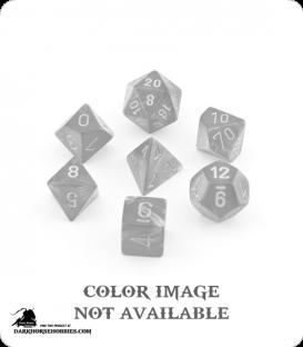 Chessex: Velvet Black/Red Polyhedral dice set