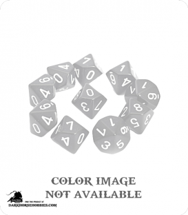 Chessex: Translucent Red d10 dice set