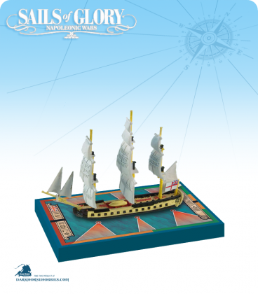 Sails of Glory: HMS Concorde - 1783 (British) Ship Pack