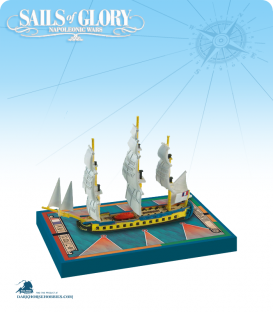 Sails of Glory: Hermione - 1779 (French) Ship Pack