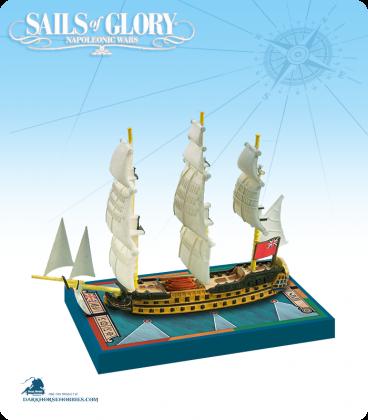 Sails of Glory: HMS Zealous - 1785 (British) Ship Pack