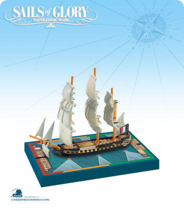 Sails of Glory: Proserpine - 1785 (French) Ship Pack