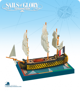 Sails of Glory: Orient - 1791 (French) Ship Pack