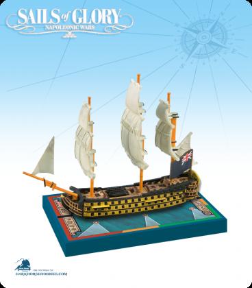 Sails of Glory: HMS Royal Sovereign - 1786 (British) Ship Pack
