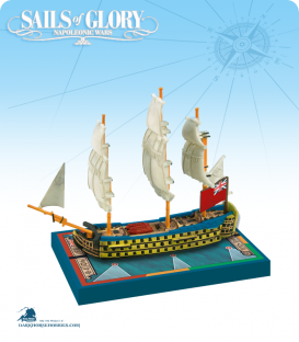Sails of Glory: HMS Royal George - 1788 (British) Ship Pack