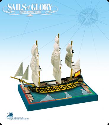 Sails of Glory: Santa Ana - 1784 (Spanish) Ship Pack