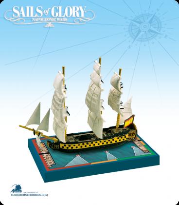 Sails of Glory: Real Carlos - 1787 (Spanish) Ship Pack