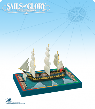 Sails of Glory: HMS Hamadryad - 1797 (British) Ship Pack
