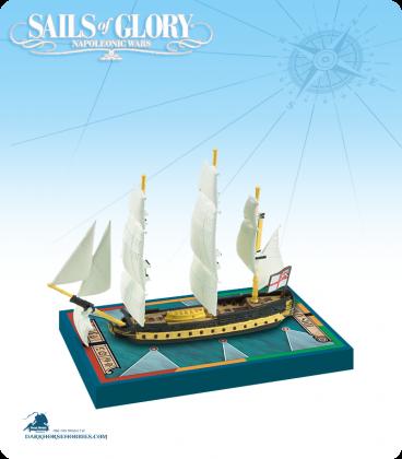 Sails of Glory: HMS Africa - 1781 (British) Ship Pack