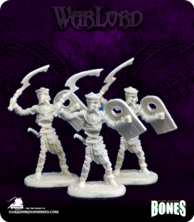 Warlord Bones: Nefsokar Mummy Warriors Set