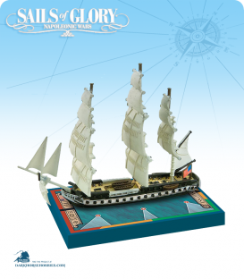 Sails of Glory: USS Constitution 1797 (1812) Ship Pack