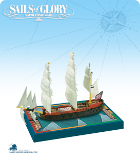 Sails of Glory: Bonhomme Richard 1779 (American) Ship Pack