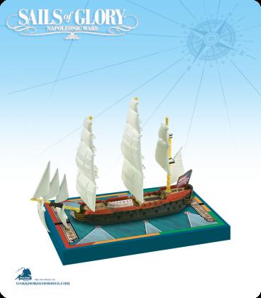 Sails of Glory: Bonhomme Richard 1779 (American) Ship Pack