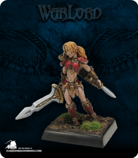 Warlord: Blade Sisters - Marda of the Blade (painted by Anne Foerster)