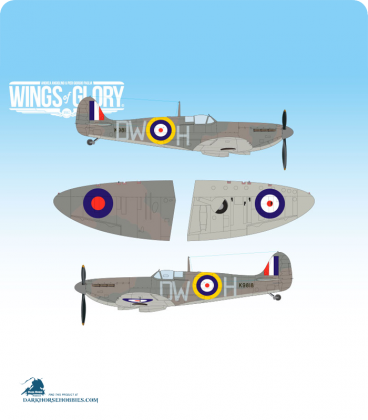 Wings of Glory: WW2 Supermarine Spitfire Mk.I (610 Squadron - Private Officer Edward Brian Bretherton Smith)