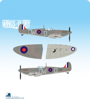 Wings of Glory: WW2 Supermarine Spitfire Mk.I (610 Squadron - Squadron Leader Andrew Thomas Smith)