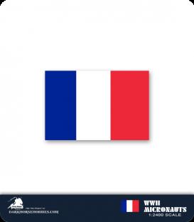 France WWII Micronauts: BB Bretagne Battleship