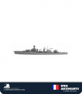 France WWII Micronauts: CL La Galissoniere Class Light cruiser