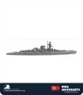 German WWII Micronauts: CB Graf Spee Cruiser