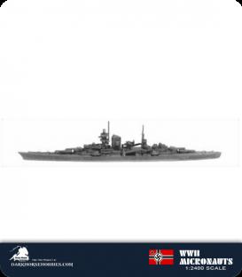 German WWII Micronauts: CA Prinz Eugen Heavy Cruiser