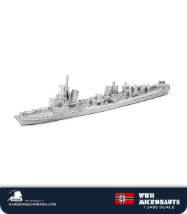 German WWII Micronauts: TBD Elbing Class T-22 Torpedo Boat Destroyer