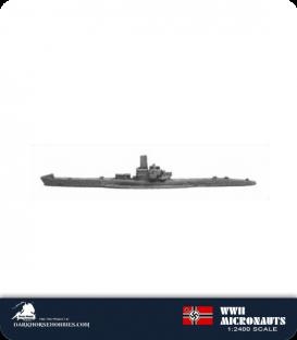 German WWII Micronauts: U-Boat - Type VII Submarine