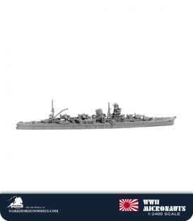 Japan WWII Micronauts: CL Yahagi Light Cruiser