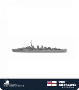 United Kingdom WWII Micronauts: HMS Manxman (CM/M70) Minelaying Cruiser