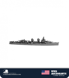 United States WWII Micronauts: DD Fletcher Class (Round Bridge) Destroyer(s)