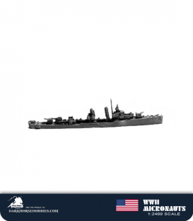 United States WWII Micronauts: DD Porter Class Destroyer(s)