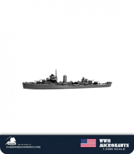 United States WWII Micronauts: DD Somers Class Destroyer(s)