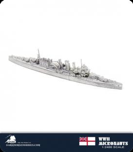 United Kingdom WWII Micronauts: HMS Berwick (CA/65) Heavy Cruiser
