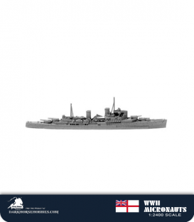 United Kingdom WWII Micronauts: HMS Fiji (CL/58) Light Cruiser