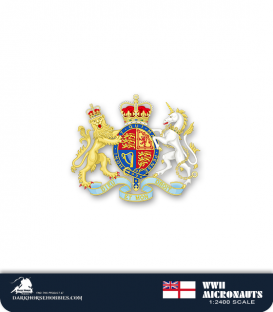 United Kingdom WWII Micronauts: HMS Dido (CLAA/37)