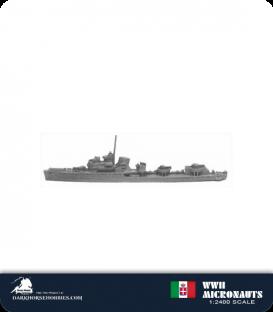 Italian WWII Micronauts: DD Soldati Class Destroyer