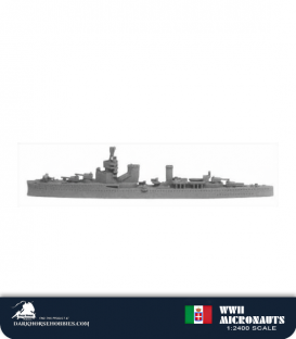 Italian WWII Micronauts: CL Giussano Light Cruiser
