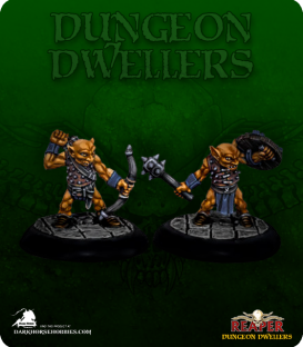 Dungeon Dwellers: Bloodbite Goblins (painted by Anne Foerster)