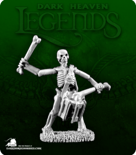 Dark Heaven Legends: Skeleton Drummer