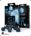 Ingress Polyhedral Dice Set: Resistance