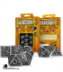 Steampunk Metal-Black Polyhedral Dice Set