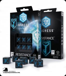 Ingress d6 Dice Set: Resistance
