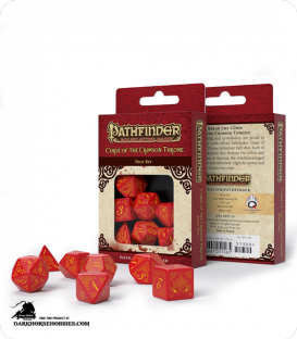 Pathfinder: Curse of the Crimson Throne Polyhedral Dice Set