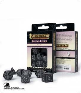 Pathfinder: Carrion Crown Polyhedral Dice Set