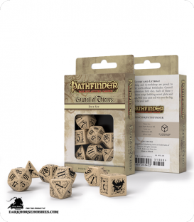 Pathfinder: Council of Thieves Polyhedral Dice Set
